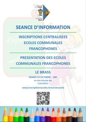 inscriptions écoles FR