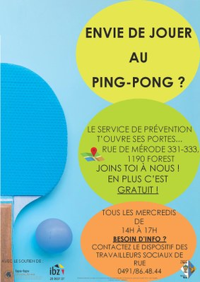 Ping pong oct 2019