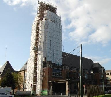 hotel communal en chantier